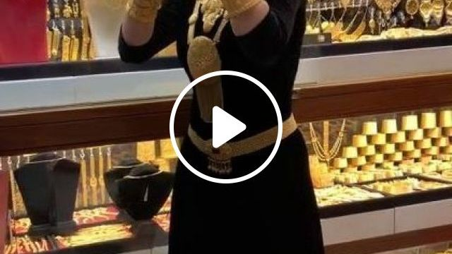 22ct Gold Newcolection Italia Makedonia Istanbul - Video & GIFs   art & design, gold fashion, fashion clothes