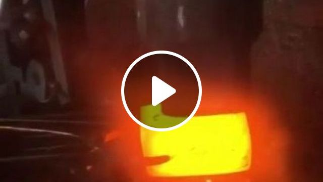 Somthing Very Soothing About Forging - Video & GIFs | science & technology, mechanical, steel technology