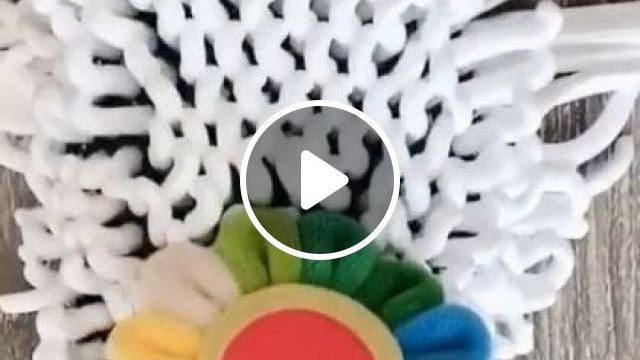 Create Flowers From Foam - Video & GIFs | art & design, performing arts, plastic slippers