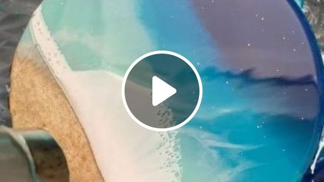 Just Making Waves - Video & GIFs | art & design, painting, painting tools