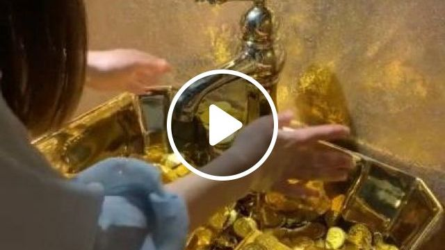 My Favorite Is Cleaning Gold - Video & GIFs | art & design, gold jewelery