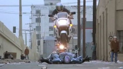 Robots can drive motorcycles very well on the street - Funny Videos - funnylax.com - Science & Technology, Robot, Automation, sports motorcycle, street