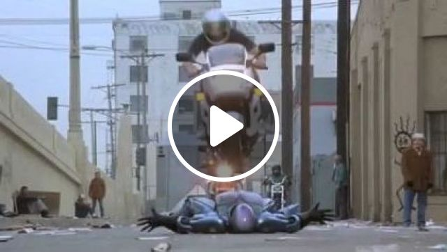 Robots Can Drive Motorcycles Very Well On The Street - Video & GIFs | Science & Technology, Robot, Automation, sports motorcycle, street