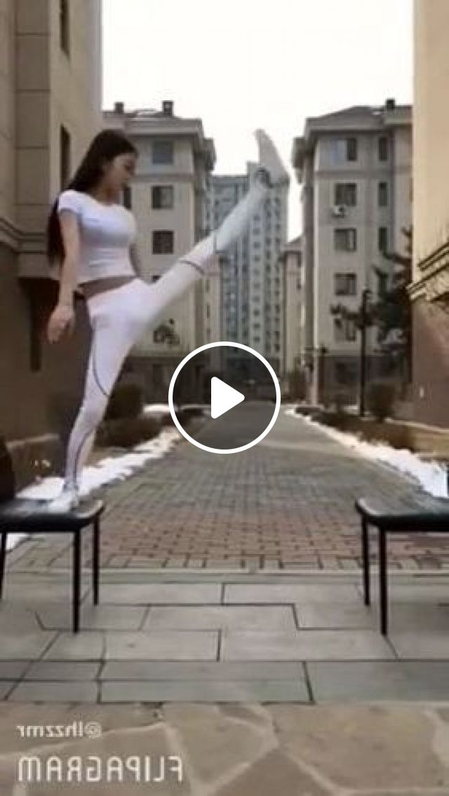 Girl Exercise To Protect Health - Video & GIFs | Fashion & Beauty, girl, fashion sport, fitness