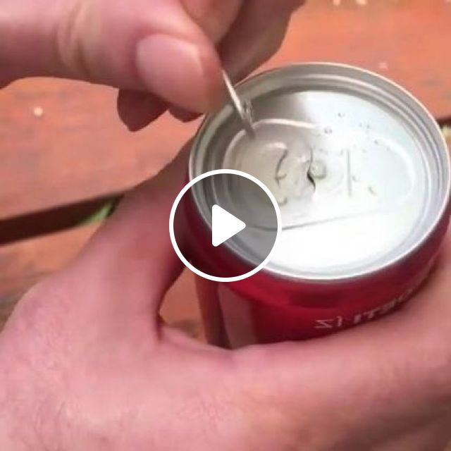 Discover A Carbonated Soft Drink, We Must Open It Properly - Video & GIFs | Science & Technology, manufacturing, production processes, product testing, commercial products, cans