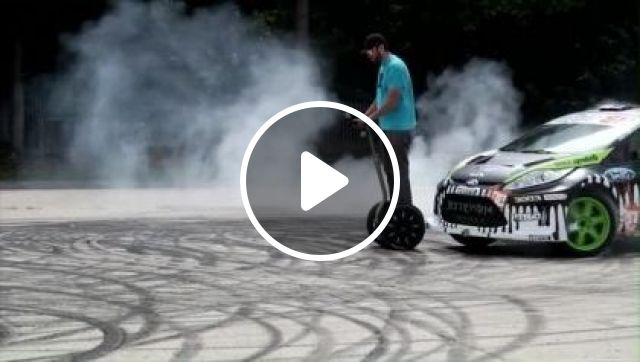 Drift Hoverboard Scooter 2 Wheels Electric Scooter With Handrail Smart Motorcycle Self Balancing Electric Hoverboard - Video & GIFs | Science & Technology, hoverboard scooter, 2 wheels electric scooter , handrail Smart Motorcycle self balancing, electric hoverboard