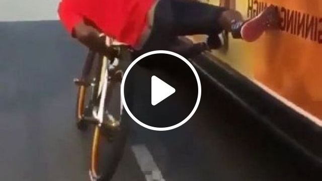 Man Riding Bike On The Street - Video & GIFs   fashion & beauty, talented men, men's clothing, bicycle sports, men's shoes, street America, luxury vehicles, luxury cars