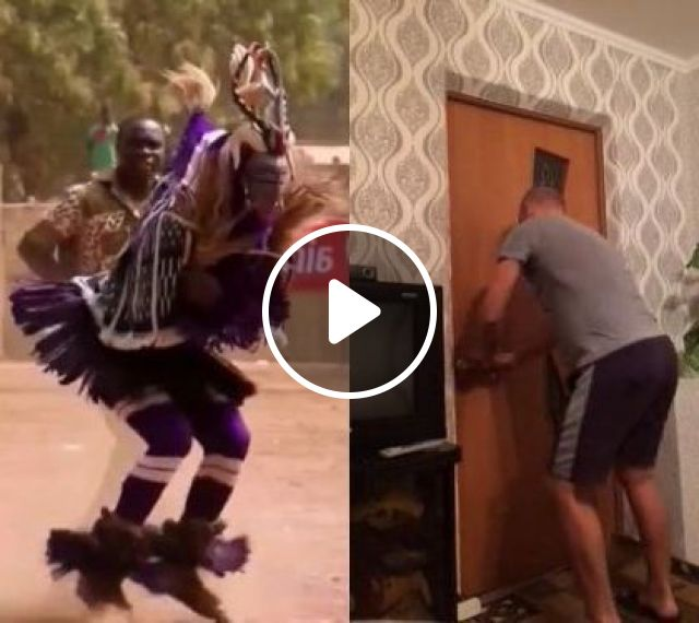 Man And New Dance In House - Video & GIFs   fashion & beauty, men, men's fashion, dance, indoor