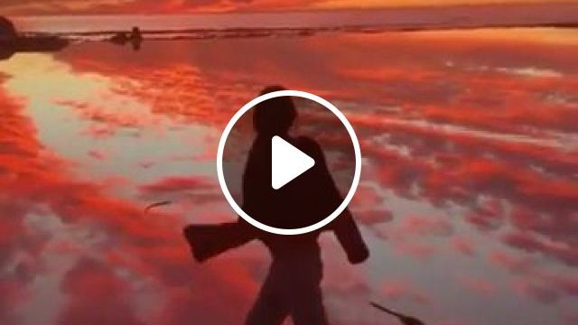 When Your Evening Is Heaven - Video & GIFs   nature, travel, girls, clothes fashion, tourists