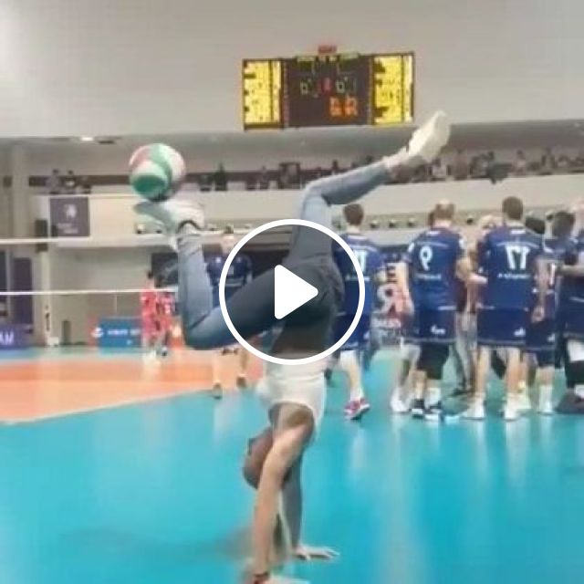 Girl Performing With Ball - Video & GIFs   sports, girls, performances, balls