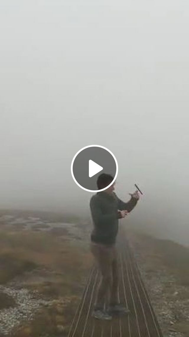 Do Not Use Smartphones When Traveling To High Mountains - Video & GIFs | nature & travel, smart phones, men, male fashion, tourists, dropped