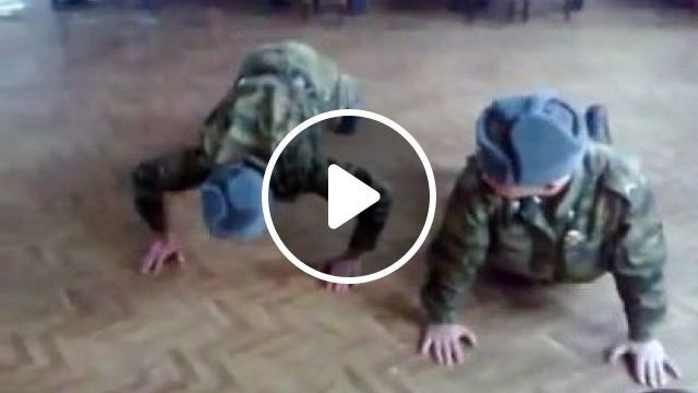Soldiers Are Exercising To Improve Health - Video & GIFs   sports, workout soldiers, exercise, health