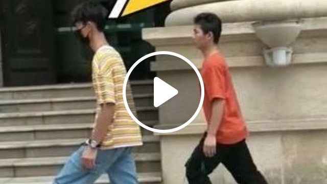 Men Are Dancing On The Street - Video & GIFs | fashion & beauty, men, men's fashion, fashion shoes, dancing, street
