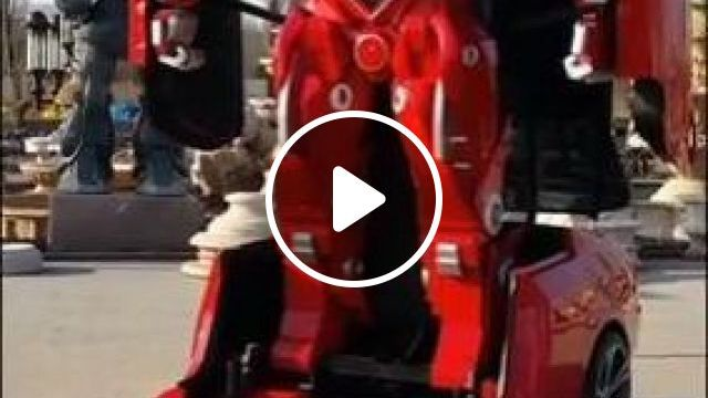 BMW turn into a real-life Transformer - Funny Videos - funnylax.com - auto & technique,bmw,engine technology,robots,luxury cars