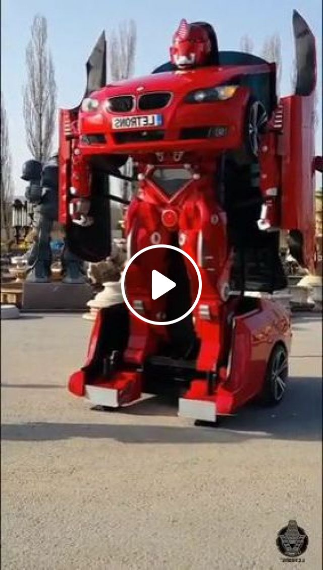 BMW Turn Into A Real-life Transformer - Video & GIFs   auto & technique, bmw, engine technology, robots, luxury cars