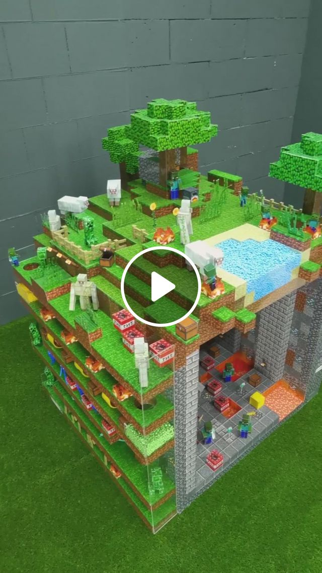 Minecraft Cube Maze For Hamster - Video & GIFs   funny minecraft videos, minecraft funny, minecraft real life